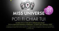 Miss Univers, o sansa la 11 ani