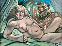 "Nudul ""Madonna and Guy"" s-a facut de ras la licitatie"