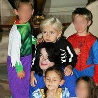 Poze cu Michael si copiii lui
