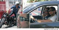 Brad Pitt este salvat de paparazzi!