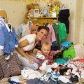 A cheltuit 20.000 euro pe hainele pentru bebelus