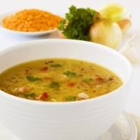 Supa crema de fasole boabe