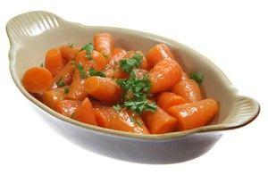 Sote de morcovi cu boabe de mustar