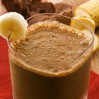 Smoothie cu cacao si banane