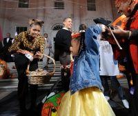 Familia Obama, gazda de Halloween