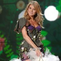 Heidi Klum a defilat la 6 saptamani de la nastere