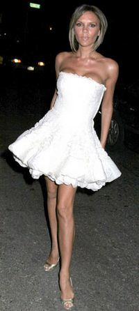 Victoria Beckham, un exemplu negativ pentru tinere