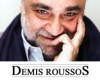 Demis Roussos da autografe pe Magheru