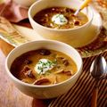 Supa crema de castane si crema de hrean