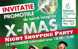 Christmas Night Shopping Party