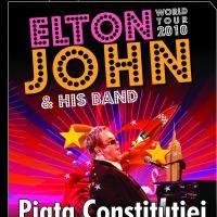 Biletele pentru concertul lui Elton John, puse in vanzare