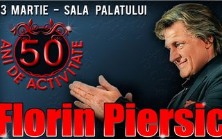 Florin Piersic, la 50 de ani de cariera