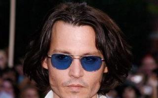 Johnny Depp uraste oglinzile