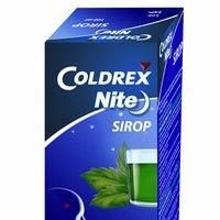 Siropul Coldrex Nite amelioreaza simptomele de raceala si gripa