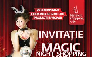 Cadourile de iepuras se gasesc la Magic Night Shopping Party