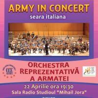 """Orchestra Reprezentativa a Armatei – """"ARMY IN CONCERT"""""""
