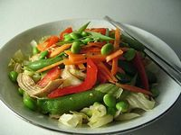 Salata de ardei cu pui