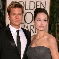 Brad Pitt si Angelina Jolie, nunta privata