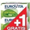 Eurovita Multiminerale cu extract de Ceai Verde 1+1