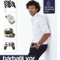 Barbatii, in centrul atentiei la Baneasa Shopping City