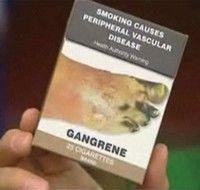 Pachete standard de tigari in Australia, din 2012
