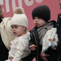 Gemenii cuplului Angelina Jolie-Brad Pitt ar putea suferi de sindromul Down
