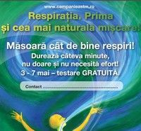 "Spirometrii gratuite in ""Saptamana Astmului"""
