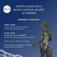 Program pentru Noaptea Muzeelor 2010