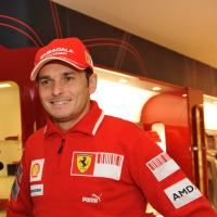 Giancarlo Fisichella vine la Baneasa Shopping City