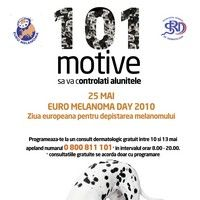 Ziua europeana pentru depistarea melanomului