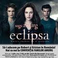 Robert Pattinson si Kristen Stewart ar putea veni in Romania