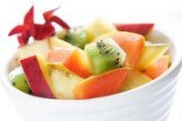 Salată de fructe cu ulei de vanilie