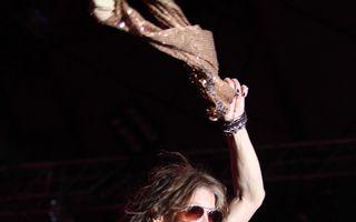 Aerosmith, show exploziv la Bucuresti