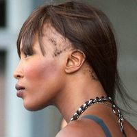 Naomi Campbell, partial cheala