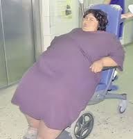 Cea mai grasa femeie din Romania a murit