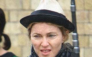 Madonna, fara machiaj