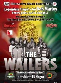Concertul The Wailers se muta in aer liber, la Arenele Romane