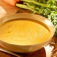 Supa crema de morcovi cu curry