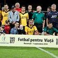 """""""Fotbal pentru viaţă"""" a strâns 134.000 de euro în 80 de minute"""