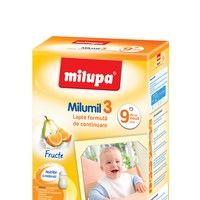 Milumil 3 cu Fructe pentru bebeluşi cu atitudine