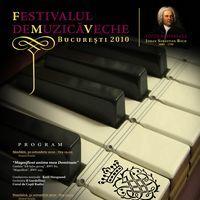 Festivalul de Muzică Veche Bucureşti, 30 octombrie - 1 noiembrie