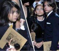 Copiii lui Michael vor Neverland-ul