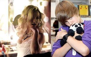 Justin Bieber adoră mirosul lui Britney Spears