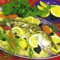 Piure de ţelină cu peşte