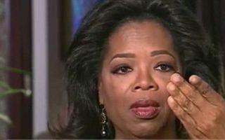 """Oprah Winfrey în lacrimi: """"Nu sunt lesbiană"""""""