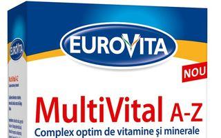Eurovita MultiVital A-Z îţi aduce energie cu eliberare prelungită pe parcursul întregii zile