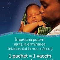 """S-a dat startul campaniei """"1 pachet = 1 vaccin"""""""