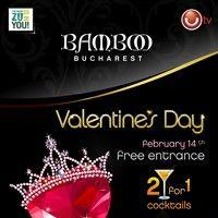 Valentine's Day la Bamboo