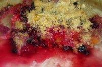 Crumble cu fructe