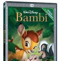 Bambi se lanseaza pe BLU-RAY si DVD!